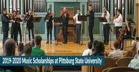 2019-2020 Music Scholarships at Pittsburg State University in USA
