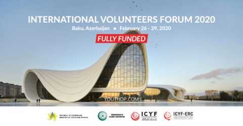 International Youth Forum 2020 for Volunteers in Azerbaijan (Fully Funded)