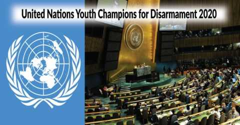 United Nations Youth Champions for Disarmament 2020