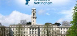 PhD Scholarship Offered by University of Nottingham in the UK