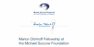 The Marion Dönhoff Fellowship at the Michael Succow Foundation
