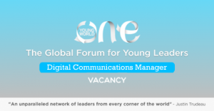 Vacancy (Digital Communications Manager) at One Young World, London