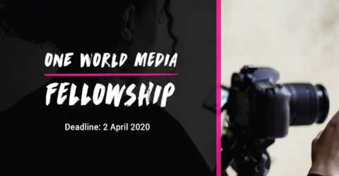 One World Media Fellowship 2020 (£1,000 Production Grant)
