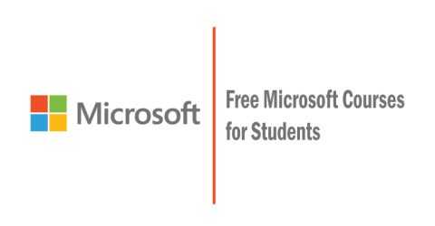 Free Microsoft Courses for Students – Limited Offer!