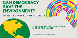 Council of Europe World Forum for Democracy 2020: Call for Youth Delegates